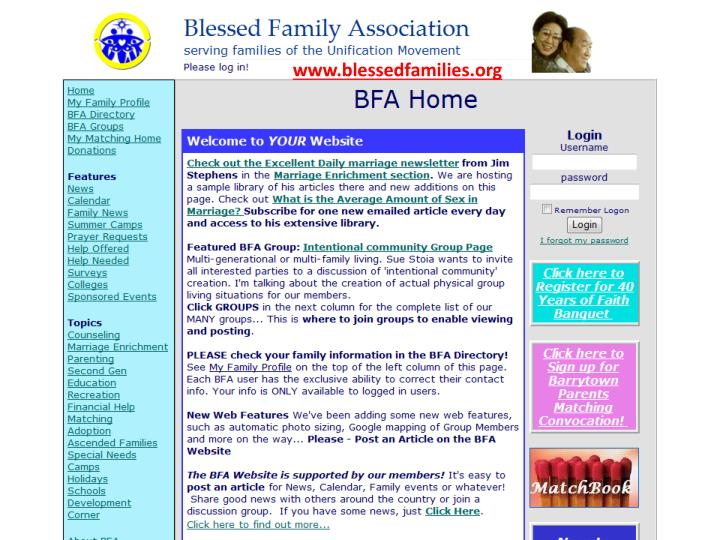 www.blessedfamilies.org