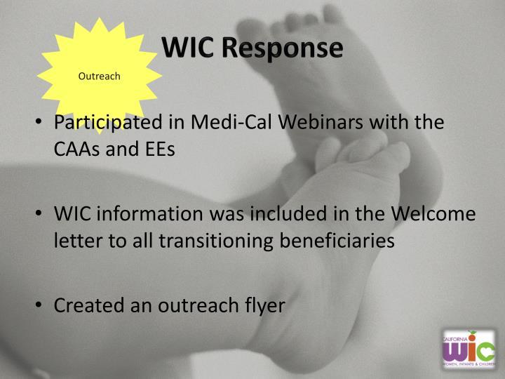 WIC Response
