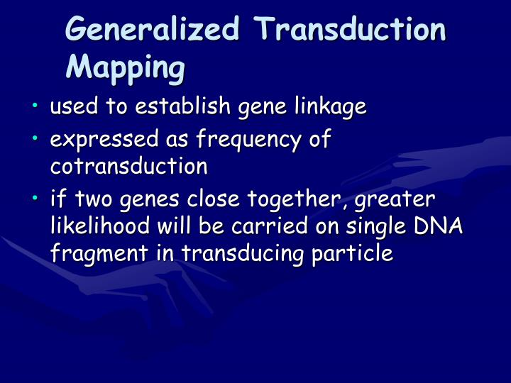 Generalized Transduction Mapping