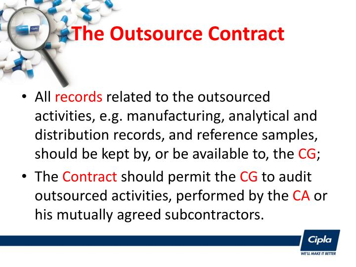 The Outsource Contract