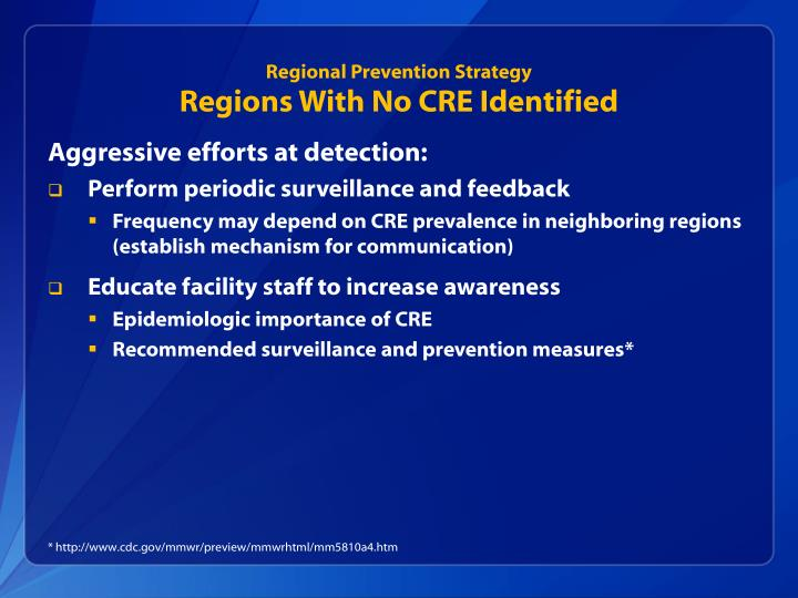 Regional Prevention Strategy