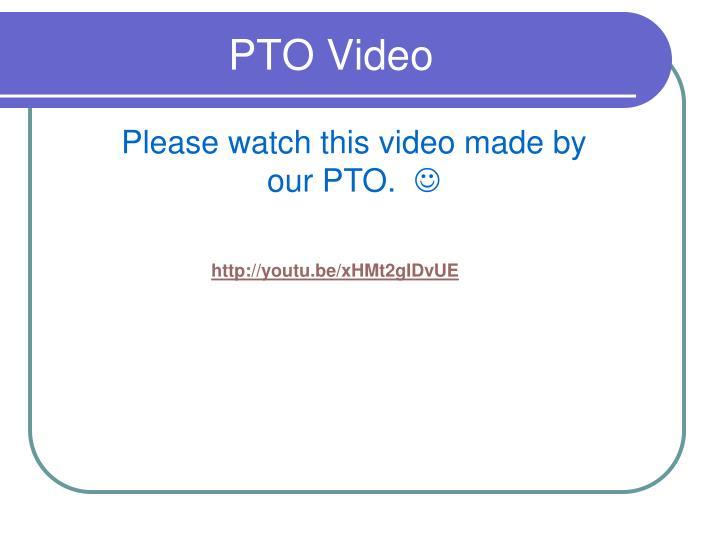 Pto video