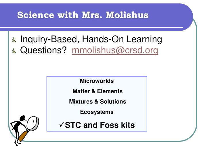Science with Mrs.