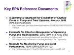 key epa reference documents