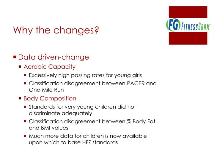 Why the changes?