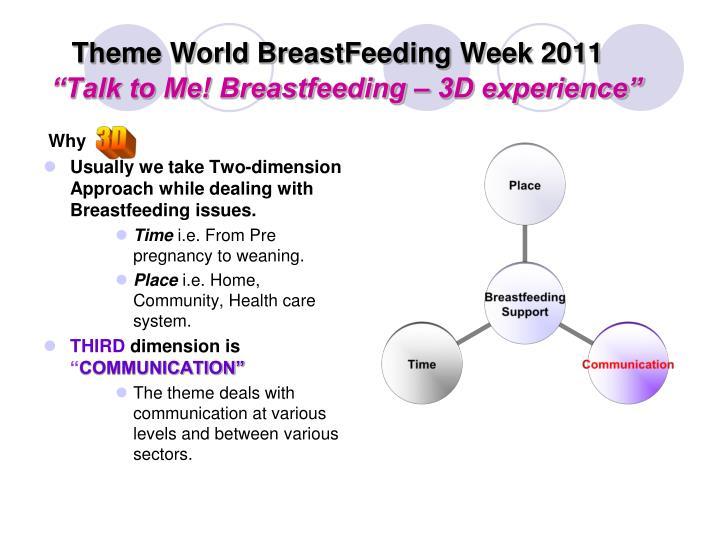 Theme World BreastFeeding Week 2011