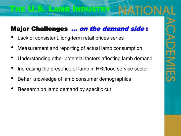 The U.S. Lamb Industry