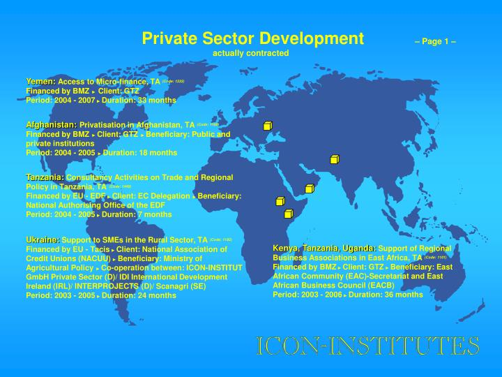 Private Sector Development