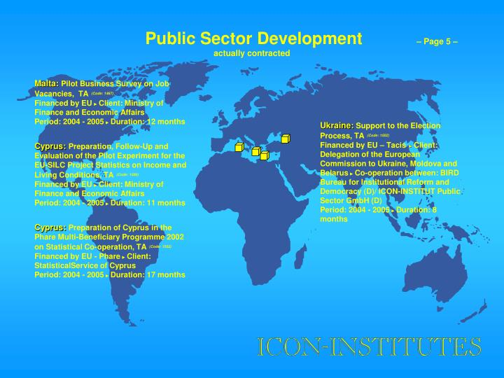 Public Sector Development