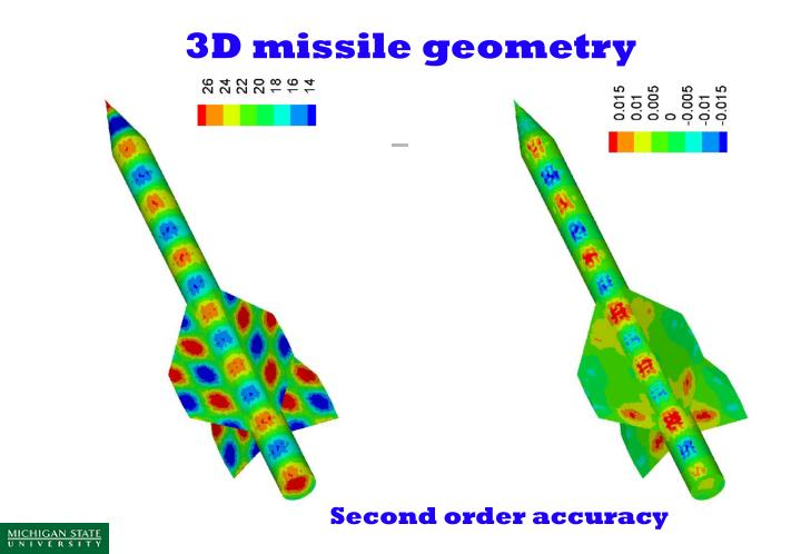 3D missile geometry