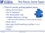 the pieces some types