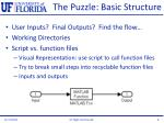 the puzzle basic structure