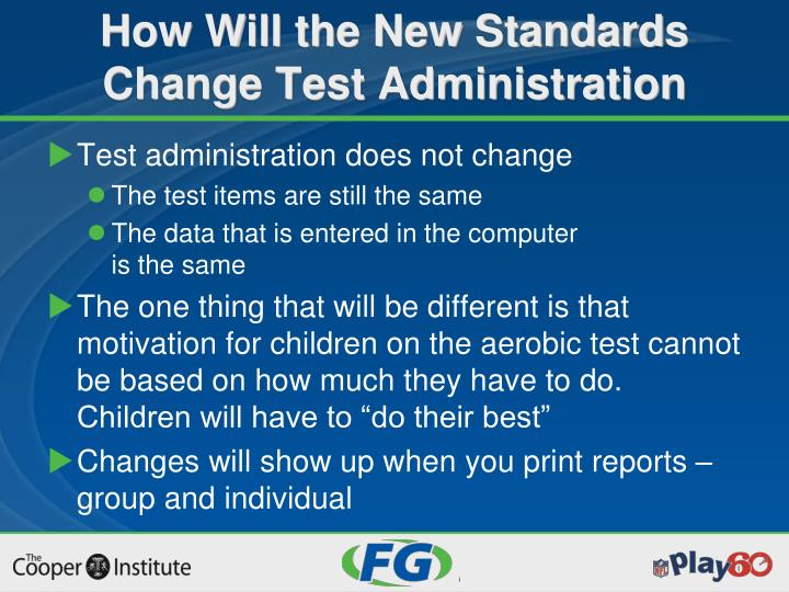 Test administration does not change