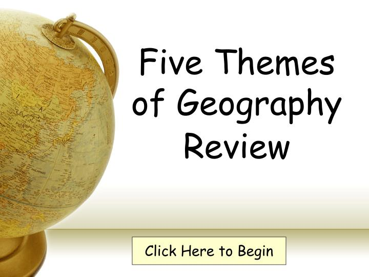 five themes of geography review n.