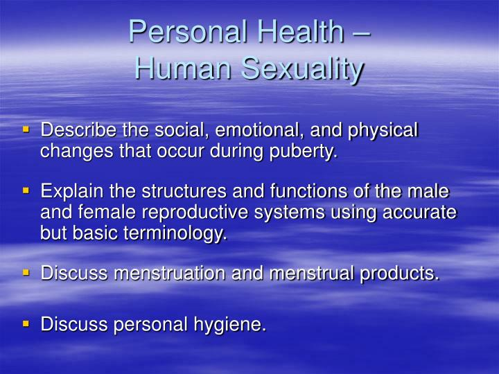 Personal Health –