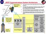 jwst communications system architecture