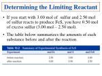 determining the limiting reactant1