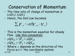 conservation of momentum3