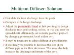 multiport diffuser solution4