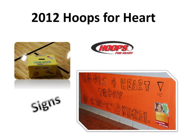 2012 Hoops for Heart
