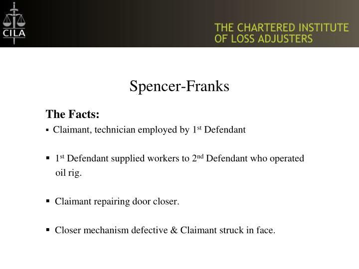 Spencer franks