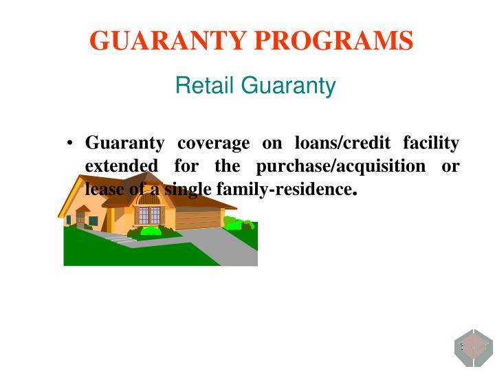 Retail Guaranty