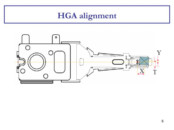 HGA alignment
