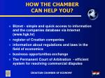 how the chamber can help you