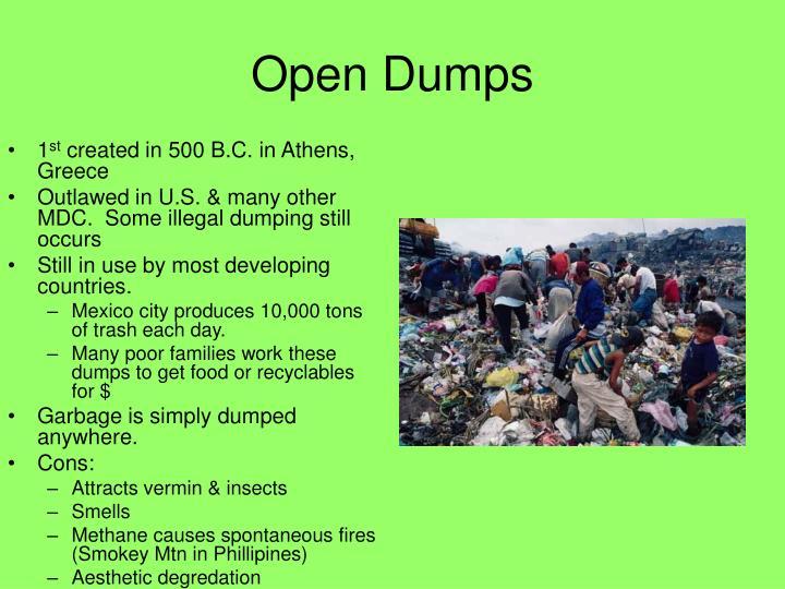 Open Dumps