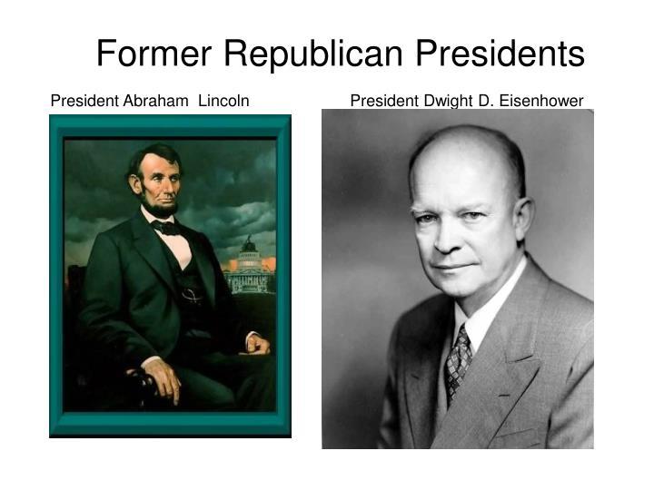 Former Republican Presidents