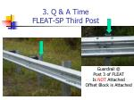 3 q a time fleat sp third post