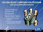 vaccine injury compensation program 1 800 338 2382 www hrsa dhhs gov