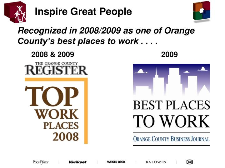 Inspire Great People
