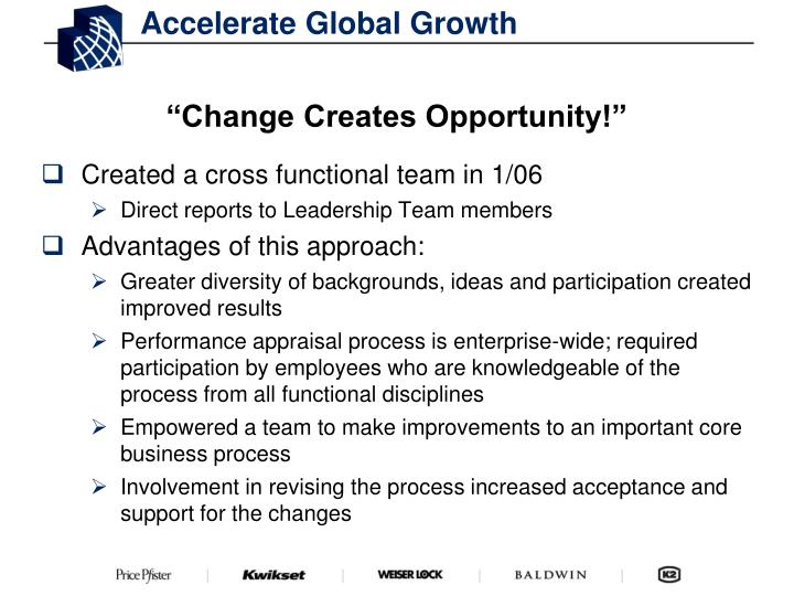 Accelerate Global Growth