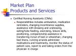 market plan products and services1