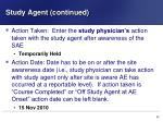 study agent continued1