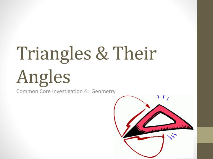 ppt triangles their angles powerpoint presentation id 6743788