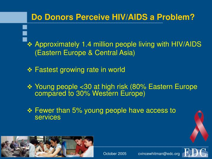 Do Donors Perceive HIV/AIDS a Problem?