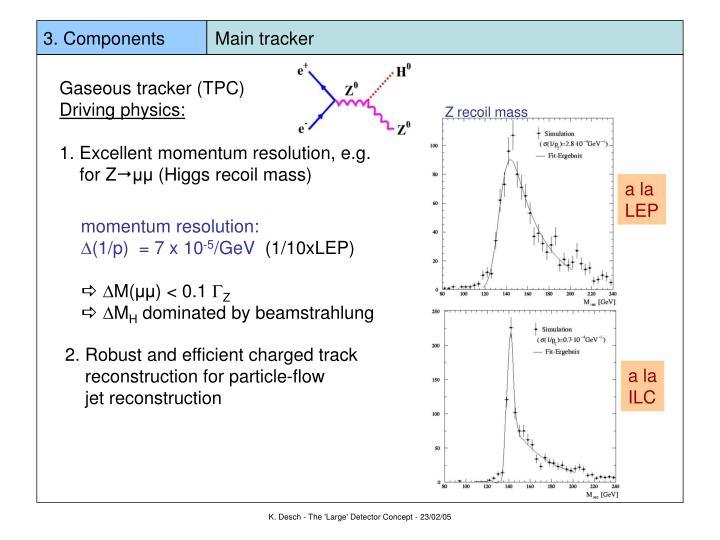 3. Components          Main tracker