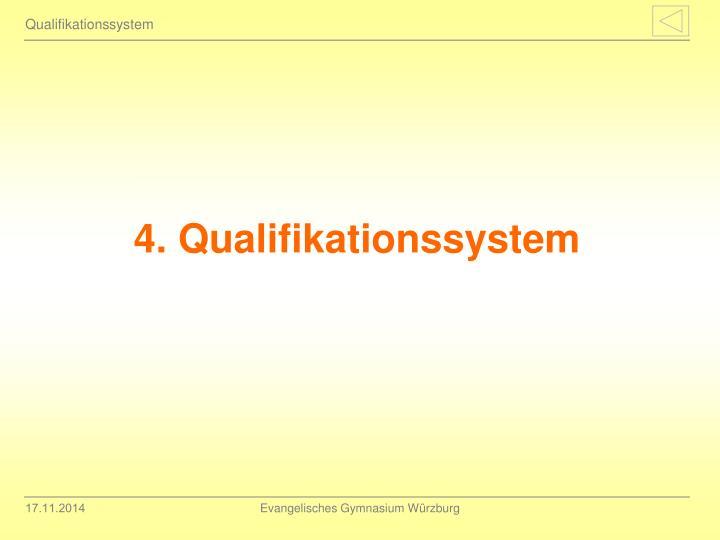 Qualifikationssystem