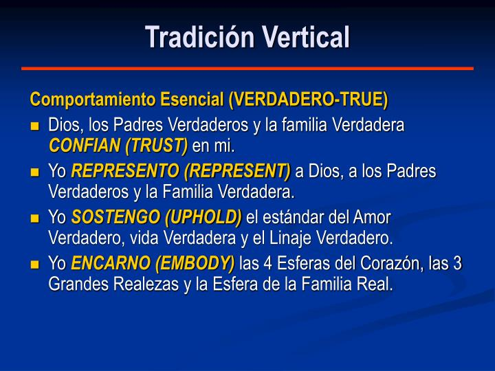 Tradición Vertical