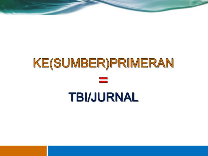 KE(SUMBER)PRIMERAN
