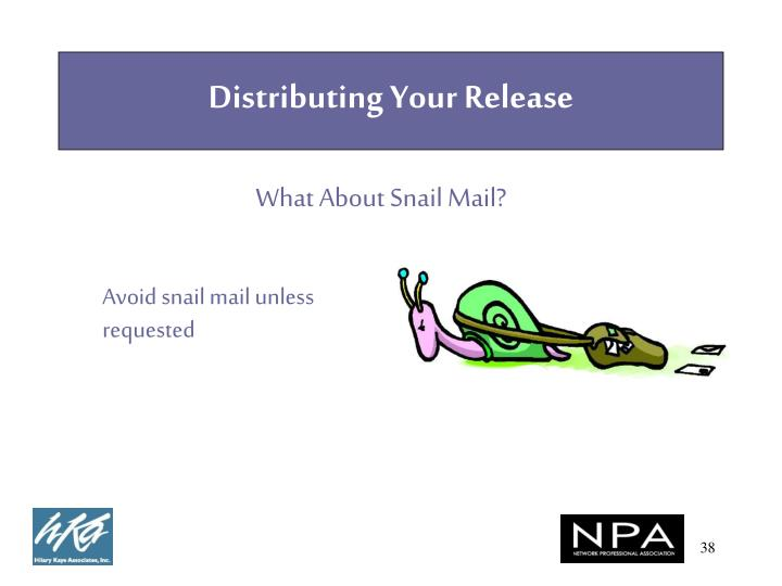 Distributing Your Release