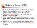 network games ng