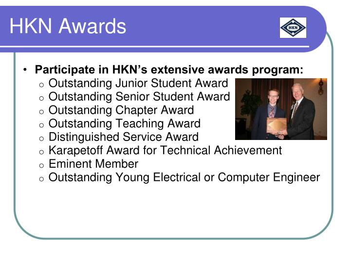 HKN Awards