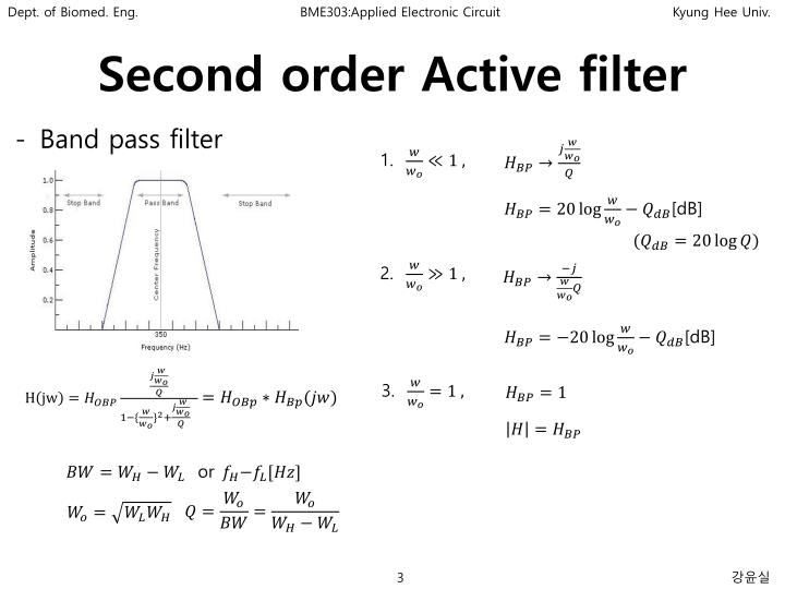 Second order active filter1
