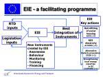 eie a facilitating programme