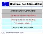 horizontal key actions hka1