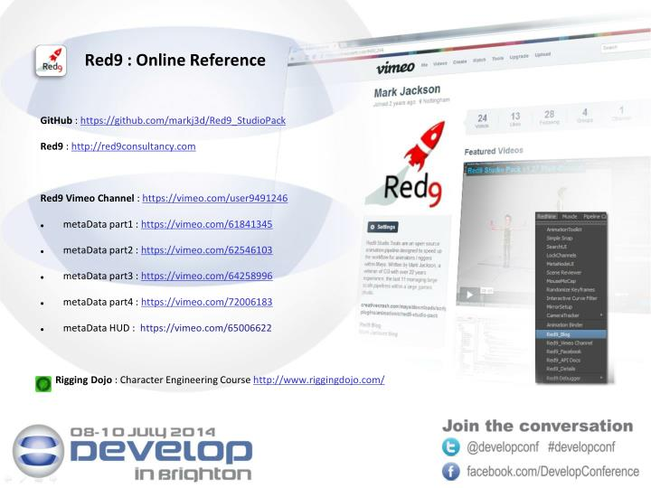 Red9 : Online Reference