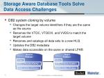 storage aware database tools solve data access challenges